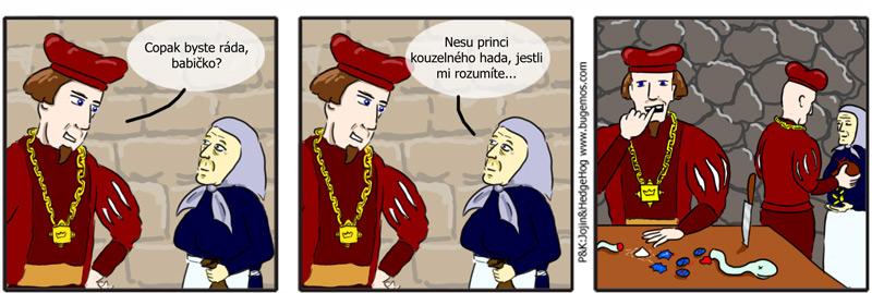 comics: Princ a bílý had