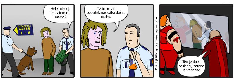 comics: Celníci (Duna)